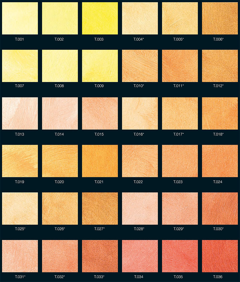 Cartella Colori Pitture Per Interni