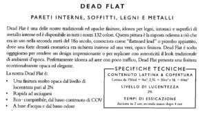 pittura per interni, legni e metalli opaca dead flat